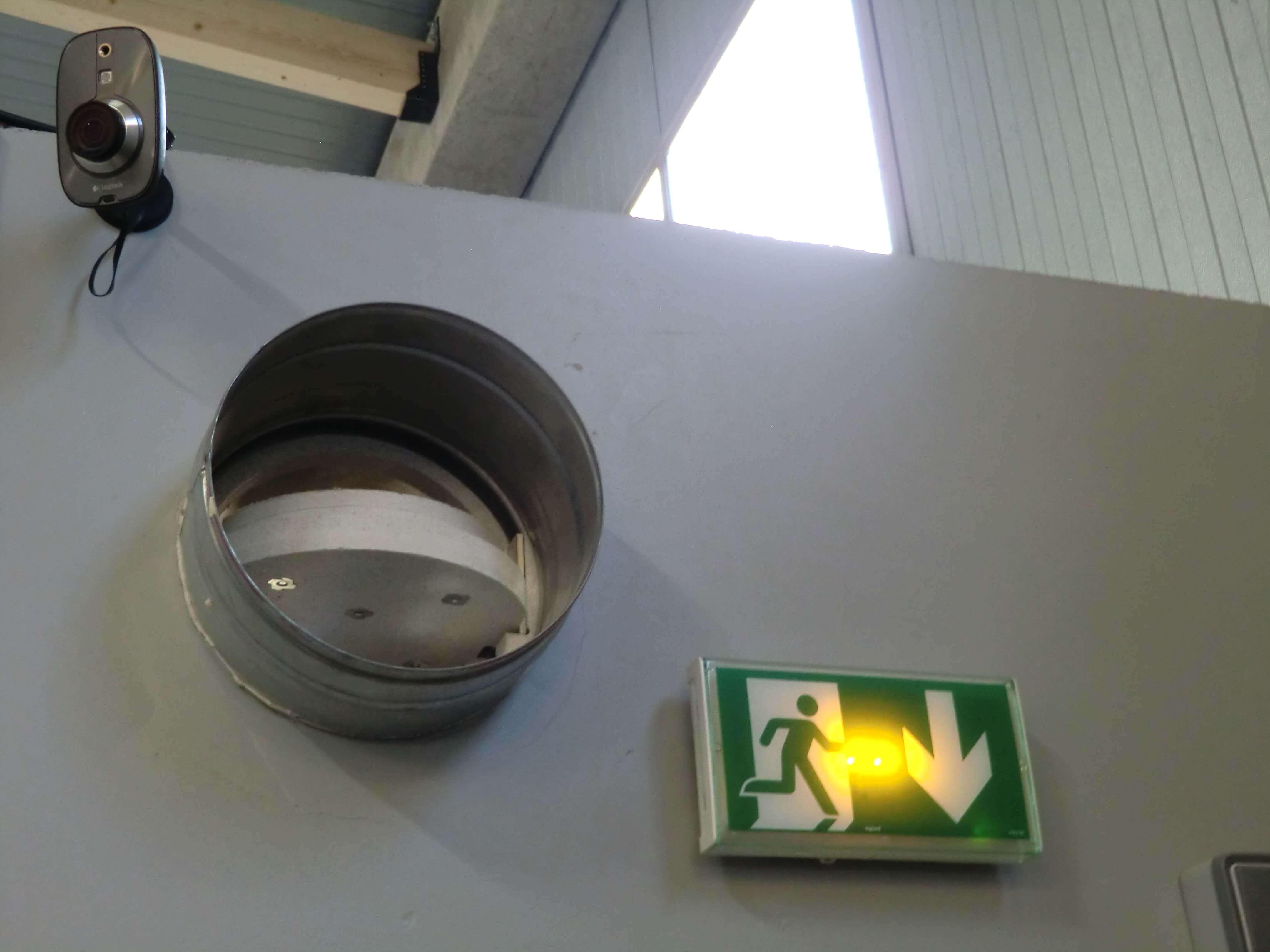 BAES - Clapet coupe-feu