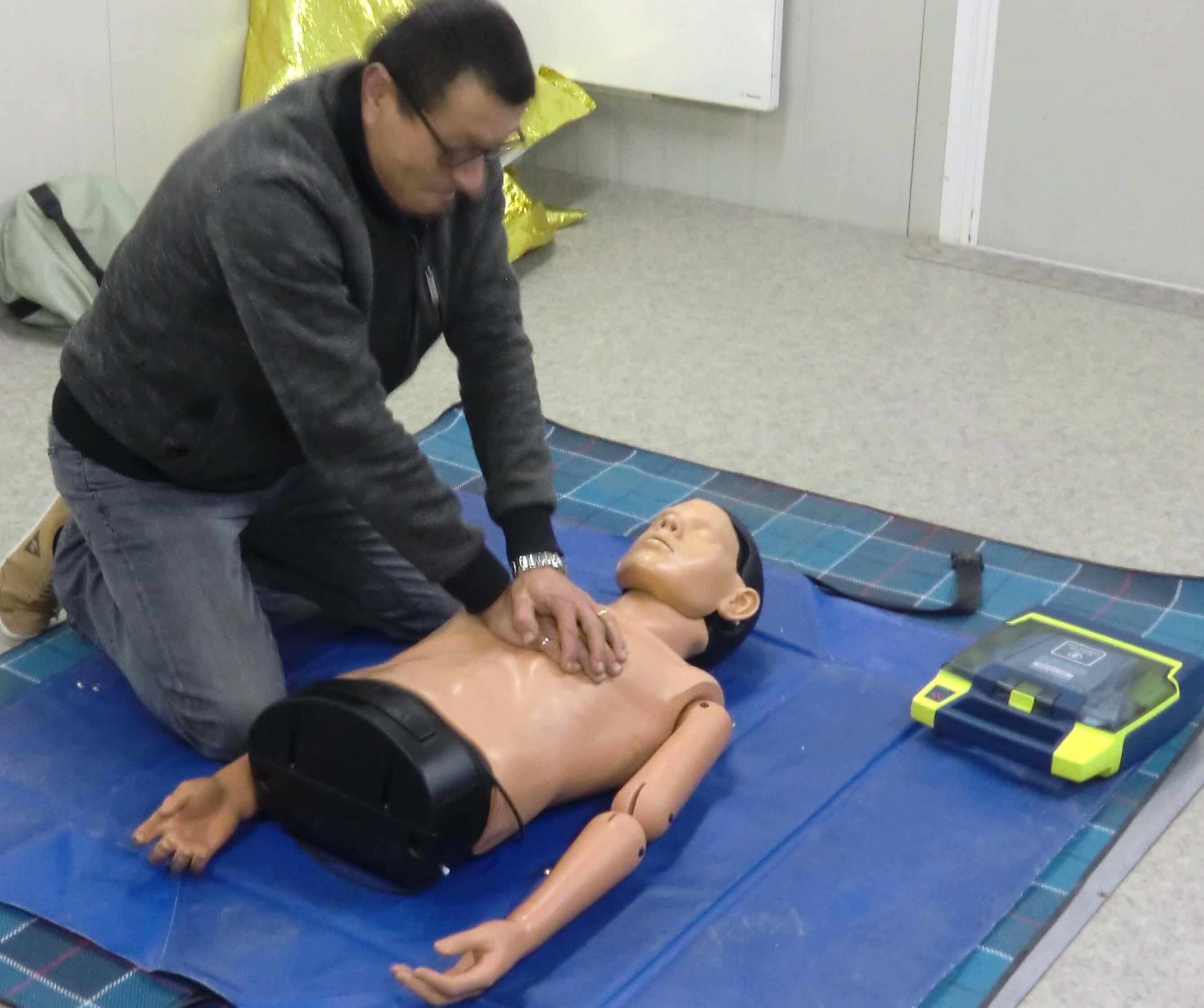 Massage Cardiaque SST